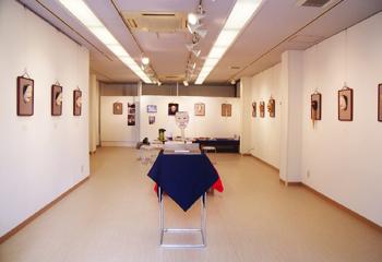 京都の能面教室・玄正会・能面花心展